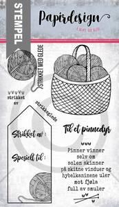 Bilde av Papirdesign - Stempel - PD19104 - Pinnedyr