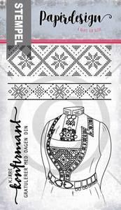 Bilde av Papirdesign - Stempel - PD19106 - Bunad fra vest