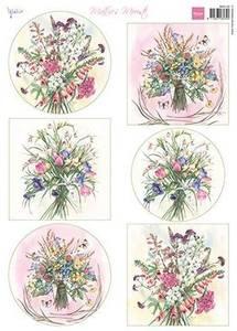 Bilde av Marianne Design - Klippeark MB0192 - Mattie's Field Bouquets