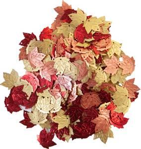 Bilde av Prima - 647872 - Sequins - Pumpkin & Spice - Glitter Leaves
