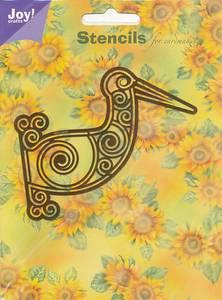 Bilde av Joy Crafts - 6001-0043 - Embossing stencil - Pelican