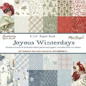 Bilde av Maja Design -  949 - Paper pad 6x6 - Joyous Winterdays