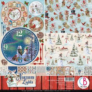 Bilde av Ciao Bella - 038 - 12x12 Patterns Pad - Northern Lights - 8pk