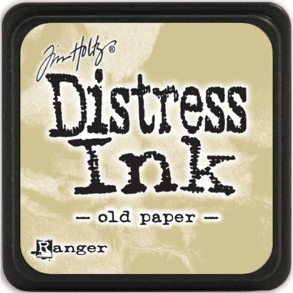 Distress - Mini Ink Pad - Old Paper