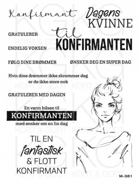 Kort & Godt - M-381 - Dagens kvinne