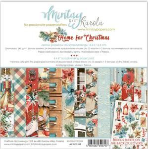 Bilde av Mintay - HFC - 6x6 Paper Pad - Home for Christmas