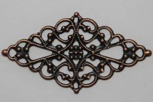 Bilde av Metall Ornament - S - Kobber - 10 stk