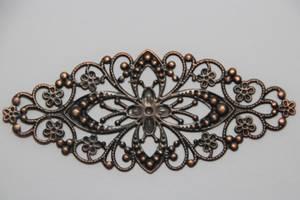 Bilde av Metall Ornament - XL - Kobber - 6 stk