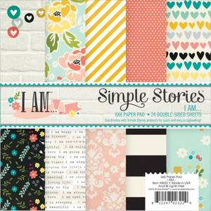 Bilde av Simple Stories - 4522 - 6x6 Paper Pad - I AM