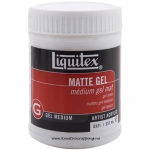 Bilde av Liquitex - Acrylic Gel Medium 5321 - MATTE 8oz