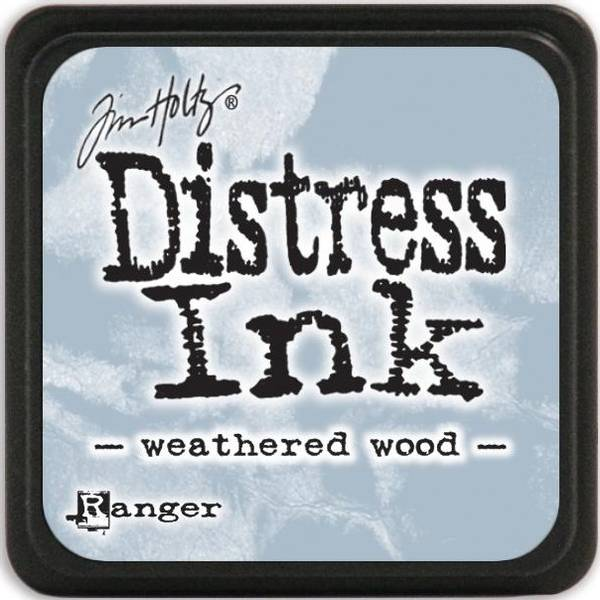 Distress - Mini Ink Pad - Weathered Wood