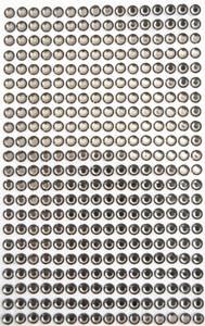 Bilde av Kort & Godt - Stickers - ST-142 - Diamant - 5mm - Mørk brun
