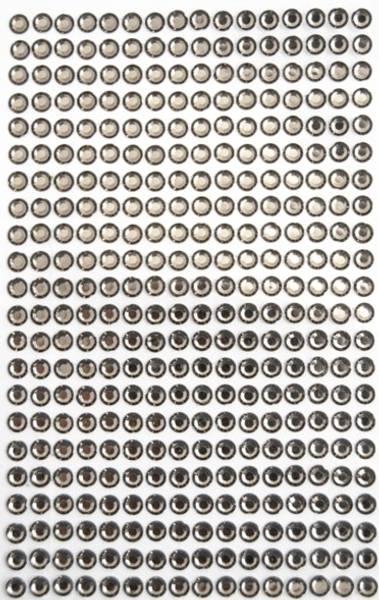 Kort & Godt - Stickers - ST-142 - Diamant - 5mm - Mørk brun