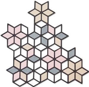 Bilde av Sizzix - Thinlits - 661741 - Diamond Cluster