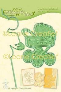 Bilde av Leane Creatief - 45.6135 - Silhouette Die - Baby Carriage