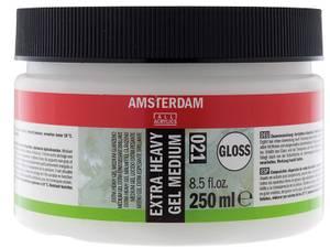 Bilde av Amsterdam - 021 - Extra Heavy Gel Medium - Glossy 250ml
