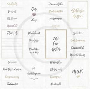 Bilde av Papirdesign PD18447 - Bryllupsfest - Fremtiden med deg