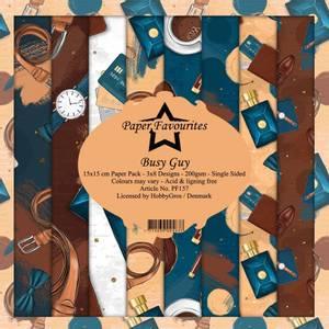 Bilde av Paper Favourites - 6x6 Paper Pad - PF157 - Busy Guy