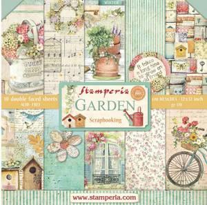 Bilde av Stamperia - 12x12 Paper Pack - 43 - Garden