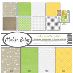 Bilde av Reminisce - 12x12 Collection Kit - MOB200 - Modern Baby