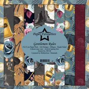 Bilde av Paper Favourites - 6x6 Paper Pad - PF158 - Gentlemen Rules