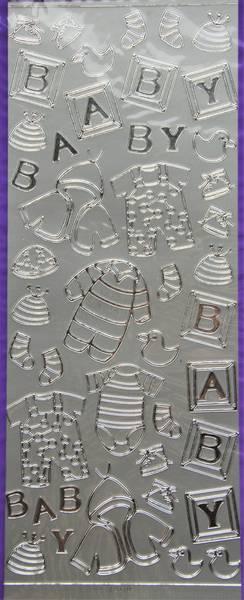 Sticker King - Baby - Silver