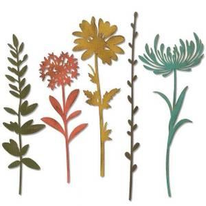 Bilde av Sizzix - Thinlits - 664163 - Wildflower Stems #1