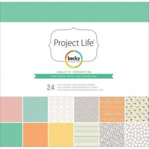 Bilde av PROJECT LIFE BECKY HIGGINS 380067 - PAPER PACK - JADE