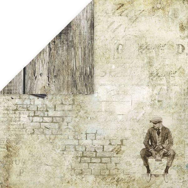 Craft & You - VM01 - Vintage Man 01 -12x12