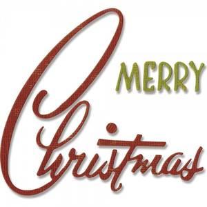 Bilde av Sizzix - Thinlits - 662420 - Tim Holtz - Retro Merry Christmas