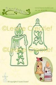Bilde av Leane Creatief - 45.6166 - Lea'bilities Die - Candle & Xmas Bell