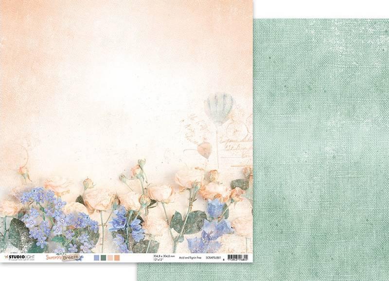 Studiolight - 12x12 - ScrapSUB81 - Summer Breeze 81