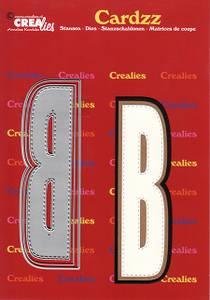 Bilde av Crealies - Dies - Cardzz 402 - Letter B