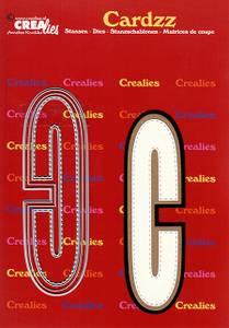 Bilde av Crealies - Dies - Cardzz 403 - Letter C