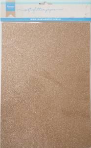 Bilde av Marianne Design - 3145 - Soft Glitter paper A4 - Bronze - 5pk