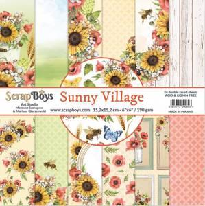 Bilde av ScrapBoys - Sunny Village - 6x6 Paper Pad