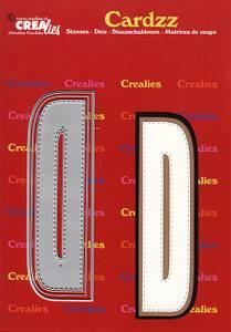 Bilde av Crealies - Dies - Cardzz 404 - Letter D