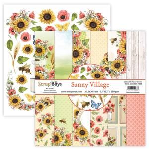Bilde av ScrapBoys - Sunny Village - 12x12 Paper Pack
