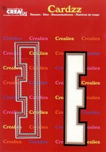 Bilde av Crealies - Dies - Cardzz 405 - Letter E