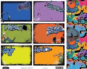 Bilde av Jorunns Scrapperier - JS21-004 - Ungdom - Grafitti 2
