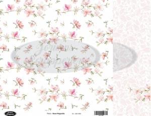 Bilde av Jorunns Scrapperier - JS21-006 - Flora - Rosa Magnolia