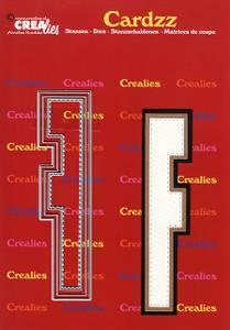 Bilde av Crealies - Dies - Cardzz 406 - Letter F