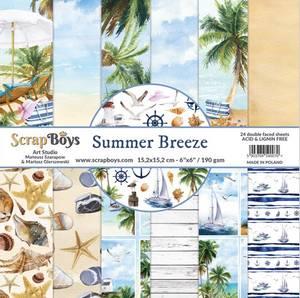 Bilde av ScrapBoys - Summer Breeze - 6x6 Paper Pad