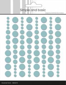 Bilde av Simple and Basic - SBA010 - Enamel Dots - Mint