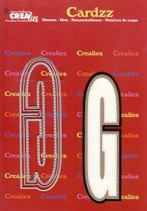 Bilde av Crealies - Dies - Cardzz 407 - Letter G