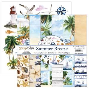 Bilde av ScrapBoys - Summer Breeze - 12x12 Paper Pack