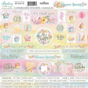 Bilde av Mintay - FOR - 12x12 - Forever Young - Cardboard Stickers