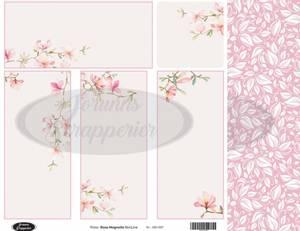 Bilde av Jorunns Scrapperier - JS21-007 - Flora - Rosa Magnolia SlimLine