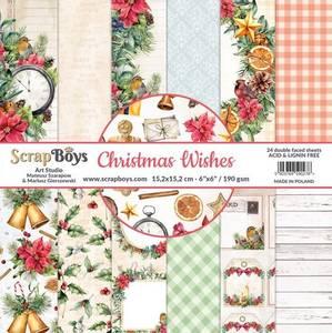 Bilde av ScrapBoys - Christmas Wishes - 6x6 Paper Pad