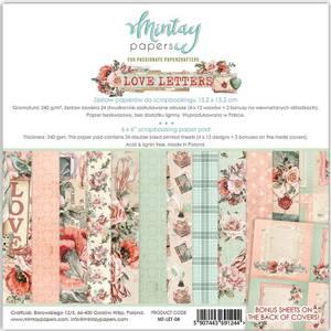 Bilde av Mintay - LET - 6x6 Paper Pad - Love Letters